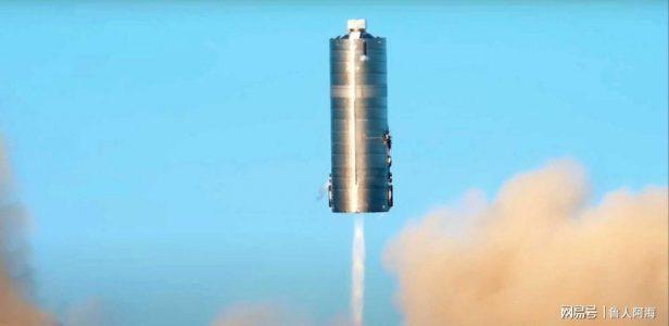 马斯克水塔星际飞船SN5成功完成150米跳跃!着手准备20公里测试!